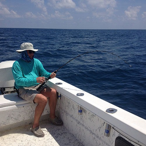 Fighting an Amberjack can be Exhausting
