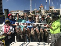 Family grouper charter success in Fort Myers