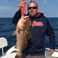Monster Scamp Grouper Hooked on Ft Myers Deep Sea Charter