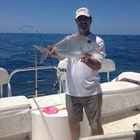 Stunning Porgy Caught on Cape Coral Deep Sea Fishing Charter