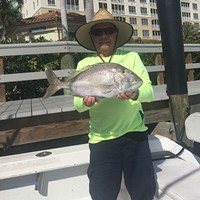 Giant Porgy Caught Onboard Crabby Charters