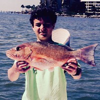 Massive Red Snapper Caught on Crabby Fishing Charter