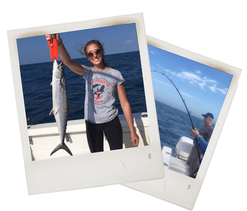 Mackerel Deep Sea Fishing Charter in Cape Coral